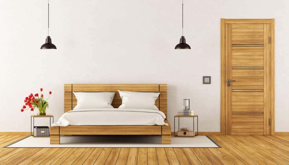 Bed Aligned with Door feng shui
